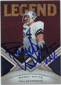 RANDY WHITE AUTOGRAPHED & NUMBERED FOOTBALL CARD #12112O