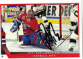 PATRICK ROY AUTOGRAPHED HOCKEY CARD #121210F