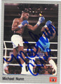 MICHAEL NUNN AUTOGRAPHED BOXING CARD #121213M