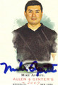 MIKE APONTE AUTOGRAPHED BLACKJACK CARD #121310K