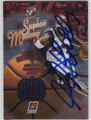 STEPHON MARBURY AUTOGRAPHED PIECE OF THE GAME BASKETBALL CARD #121312O