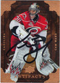 CAM WARD AUTOGRAPHED HOCKEY CARD #121411E