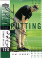 PHIL MICKELSON AUTOGRAPHED GOLF CARD #121411T