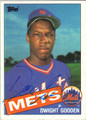 DWIGHT GOODEN AUTOGRAPHED VINTAGE BASEBALL CARD #121412F