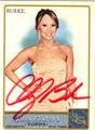 CHERYL BURKE AUTOGRAPHED CARD #121511J