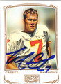 MATT CASSEL AUTOGRAPHED FOOTBALL CARD #121512C