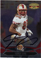 VERNON DAVIS SAN FRANCISCO 49ers AUTOGRAPHED FOOTBALL CARD #121513E