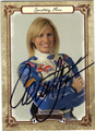 COURTNEY FORCE AUTOGRAPHED RACING CARD #121513i