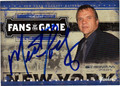 MEATLOAF AUTOGRAPHED CARD #121611B