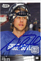 NICK FOLES AUTOGRAPHED ROOKIE FOOTBALL CARD #121612N