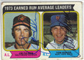 JIM PALMER & TOM SEAVER BALTIMORE ORIOLES & NEW YORK METS DOUBLE AUTOGRAPHED VINTAGE BASEBALL CARD #121613R