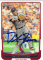 DAVID FREESE AUTOGRAPHED BASEBALL CARD #121712B