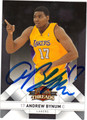 ANDREW BYNUM AUTOGRAPHED BASKETBALL CARD #121711O
