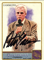PETER GAMMONS AUTOGRAPHED CARD #121711Q