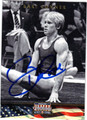 BART CONNER AUTOGRAPHED OLYMPIC GYMNASTICS CARD #121812F