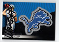 MATTHEW STAFFORD AUTOGRAPHED FOOTBALL CARD #121810D
