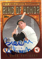 BROOKS ROBINSON AUTOGRAPHED BASEBALL CARD #121811J