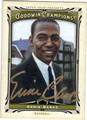 ERNIE BANKS CHICAGO CUBS AUTOGRAPHED BASEBALL CARD #121913K