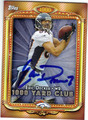 ERIC DECKER DENVER BRONCOS AUTOGRAPHED FOOTBALL CARD #121913M