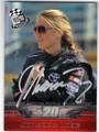 JOHANNA LONG AUTOGRAPHED NASCAR CARD #121913E