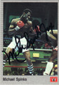 MICHAEL SPINKS AUTOGRAPHED BOXING CARD #122013R