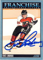 ERIC LINDROS AUTOGRAPHED HOCKEY CARD #122112H