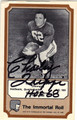 CHARLEY TRIPPI CHICAGO CARDINALS AUTOGRAPHED VINTAGE FOOTBALL CARD #122113S