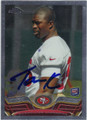 CORNELLIUS CARRADINE SAN FRANCISCO 49ers AUTOGRAPHED ROOKIE FOOTBALL CARD #122013G