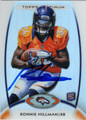 RONNIE HILLMAN DENVER BRONCOS AUTOGRAPHED ROOKIE FOOTBALL CARD #12213B