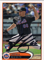 JOSH EDGIN AUTOGRAPHED ROOKIE BASEBALL CARD #122212L