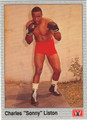 "CHARLES ""SONNY"" LISTON BOXING CARD #122213H"