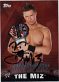 THE MIZ AUTOGRAPHED WRESTLING CARD #122211H