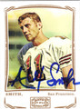 ALEX SMITH SAN FRANCISCO 49ers AUTOGRAPHED FOOTBALL CARD #122213N