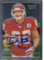 DWAYNE BOWE KANSAS CITY CHIEFS AUTOGRAPHED FOOTBALL CARD #122213R