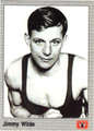 JIMMY WILDE BOXING CARD #122213V