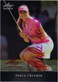 PAULA CREAMER AUTOGRAPHED GOLF CARD #122312A