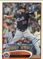 BOBBY PARNELL AUTOGRAPHED BASEBALL CARD #122312F