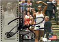 VENUS WILLIAMS AUTOGRAPHED TENNIS CARD #122312N