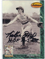 NICKIE FOX AUTOGRAPHED WOMEN'S BASEBALL CARD #122312T