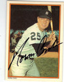 NORM CASH DETROIT TIGERS AUTOGRAPHED BASEBALL CARD #122313R