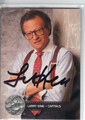 LARRY KING AUTOGRAPHED CARD #122313W