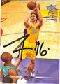 PAU GASOL LOS ANGELES LAKERS AUTOGRAPHED BASKETBALL CARD #122313N