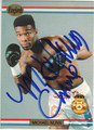 MICHAEL NUNN AUTOGRAPHED BOXING CARD #122813i