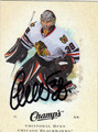CRISTOBAL HUET AUTOGRAPHED HOCKEY CARD #122912C