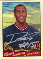DERRICK FAVORS AUTOGRAPHED ROOKIE BASKETBALL CARD #123011E