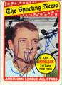 KEN HARRELSON BOSTON RED SOX AUTOGRAPHED VINTAGE BASEBALL CARD #122913J