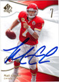 MATT CASSEL AUTOGRAPHED FOOTBALL CARD #123010D
