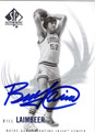 BILL LAIMBEER AUTOGRAPHED BASKETBALL CARD #123111B
