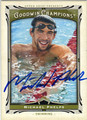 MICHAEL PHELPS OLYMPIC SWIMMING AUTOGRAPHED CARD #123013K