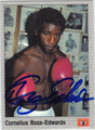 CORNELIUS BOZA-EDWARDS AUTOGRAPHED BOXING CARD #123113A